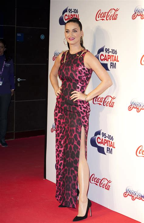 Katy Perry Red Carpet Photos - 2013 Capital FM Jingle Bell