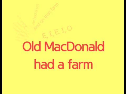 Old MacDonald had a Farm: with song (Igloo)   Text Book Centre