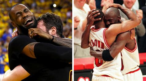 Twenty Years Apart, Signature Moments for LeBron James and