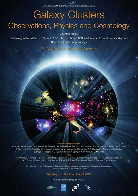 Poster: Galaxy Clusters   ESO