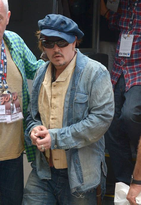 Johnny Depp in Rio ahead of performance with The Hollywood