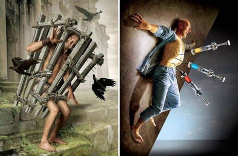 Surreal Illustrations With Hidden Meaning Show The Darker