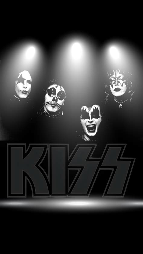 Download Our HD Kiss Band Wallpaper For Android Phones