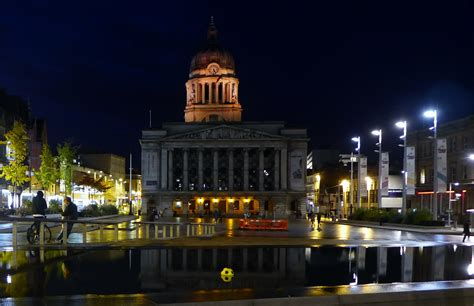 Nottingham Council House - City Hall in Nottingham