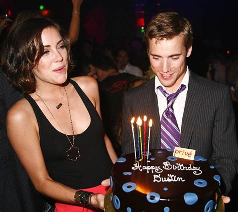 90210's Dustin Milligan and Jessica Stroup at Prive Las Vegas