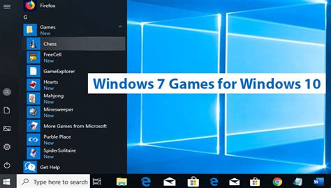 How to Download, Install and Play the Windows 7 Games on