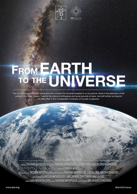 Poster: From Earth to the Universe Planetarium Show   ESO