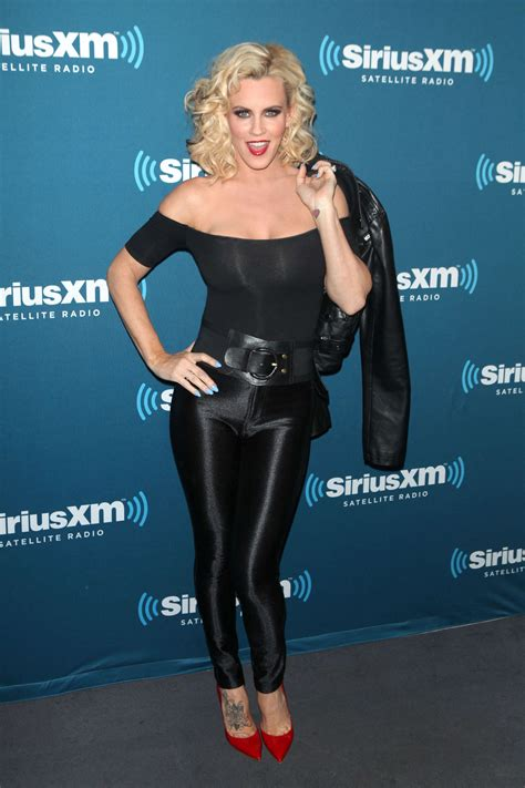 Jenny McCarthy in Leather Pants - Hosts A Halloween