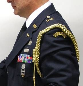 Properly Attaching the USAF Honor Guard Aiguillette   The