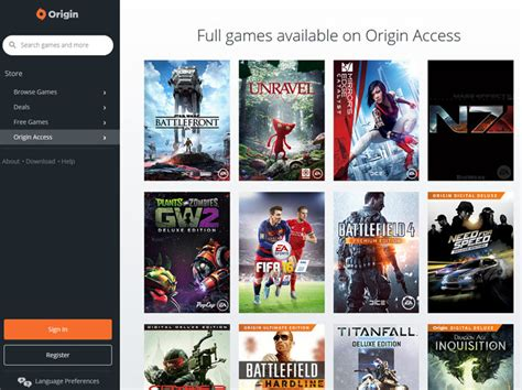 Origin Access membership becomes available for $30/£20 pa