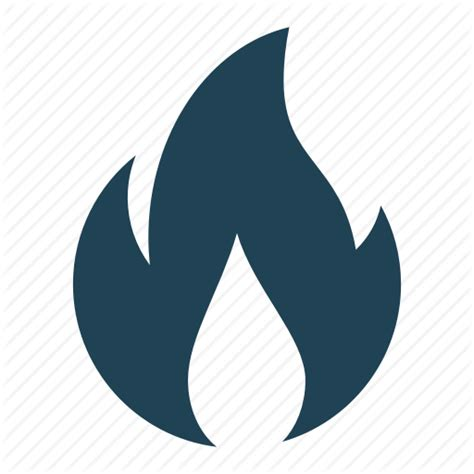 Blue Flame Icon at GetDrawings | Free download