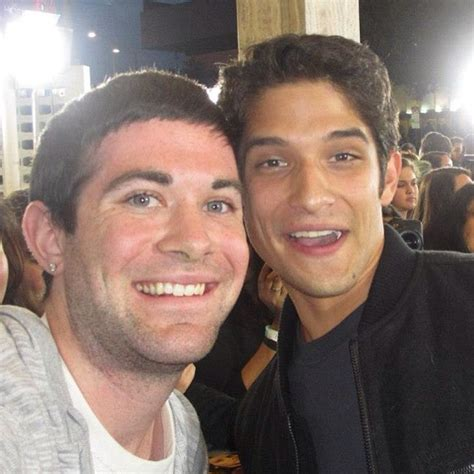 Image - Twihardmonster and Tyler Posey at The Host
