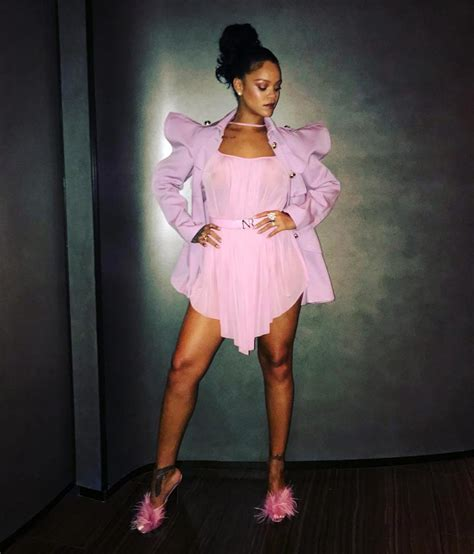 Rihanna Nipples Exposed In See Through Clothes - Scandal