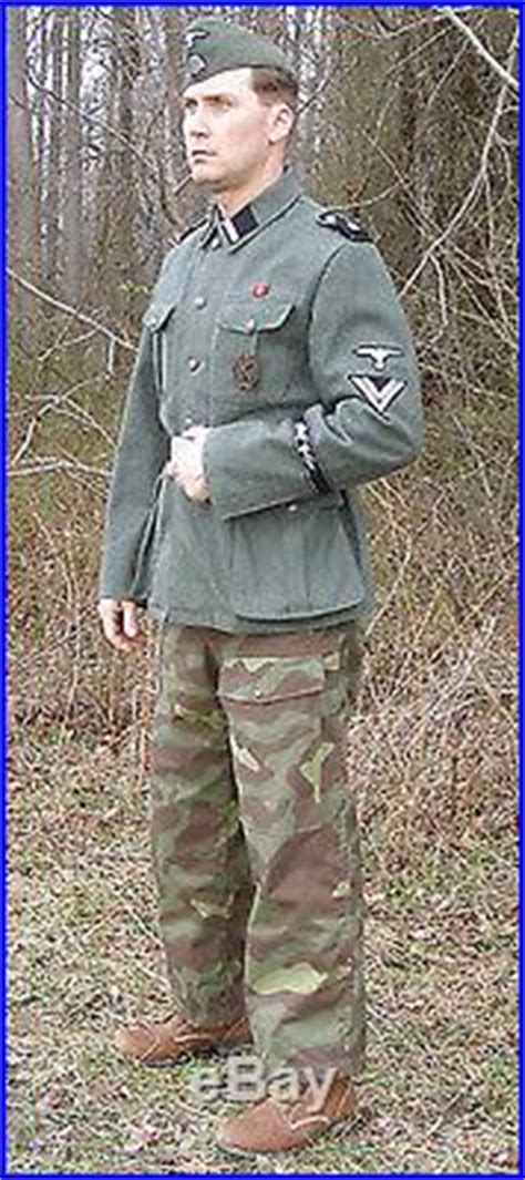 Reproduction German WWII Italian M29 Camouflage Trousers
