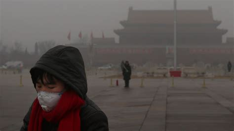 Smoggy in Beijing? A lack of Arctic sea ice may be to