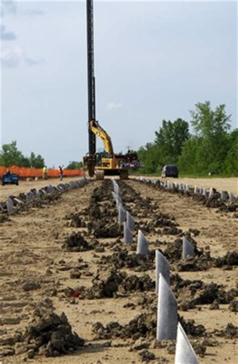 Vertical Wick Drains - Red River Floodway - Layfield