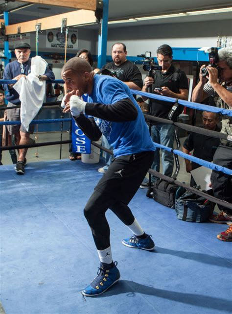 Andre Ward Trains for Tonight's Fight in Air Jordan 28 SE