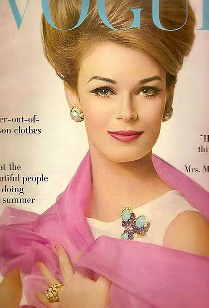 Vogue Cover - 1950's clean beautiful makeup with amazing
