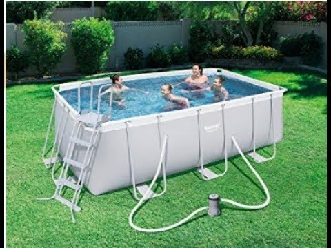 Rectangular pool outside ground Intex – 28352 by