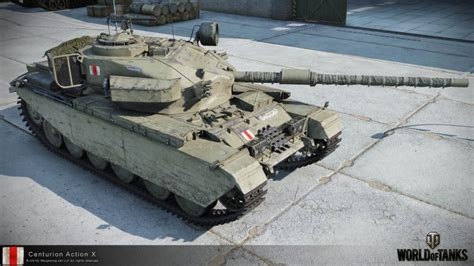 Tank FV4202 will be replaced on Centurion Action X   World