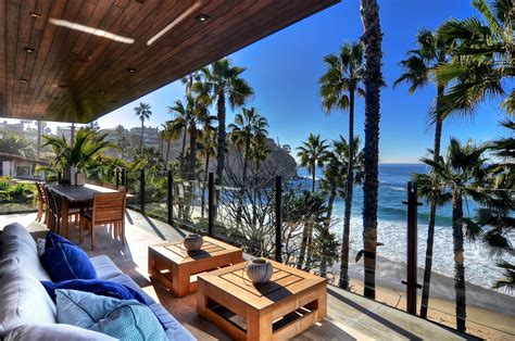 Oceanfront Laguna Beach House is Up for Rent