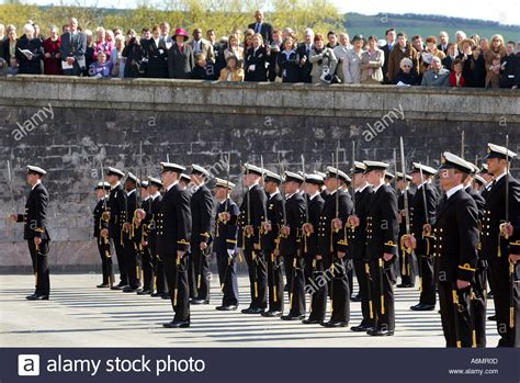 Britannia Royal Naval College Dartmouth UK - passing out