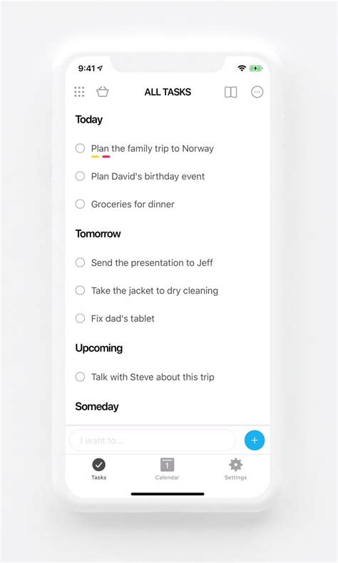 To do list app with Calendar, Planner & Reminders | Any