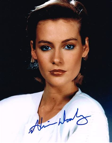 Alison Doody Autograph Signed Photo - A View To A Kill