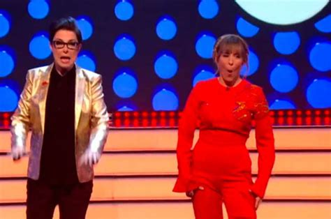 Let's Sing & Dance's Mel Giedroyc suffers epic camel toe