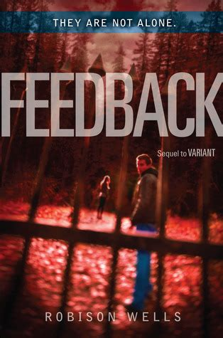 Feedback by Robison Wells – Books of Amber