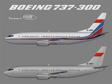 PLAAF – China Air Force Boeing 737-300 – Juergen's paint