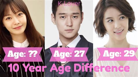 """""""Cross"""" Korean Drama Cast Age Differences - YouTube"""