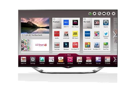 Best Smart TV UI by LG with Sky integration – Product