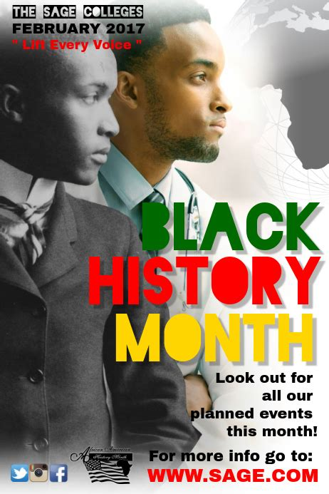 blackhistorymonth5 Template   PosterMyWall