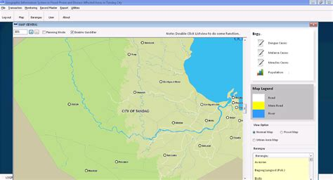 Geographic Information System (GIS) in Flood Prone and