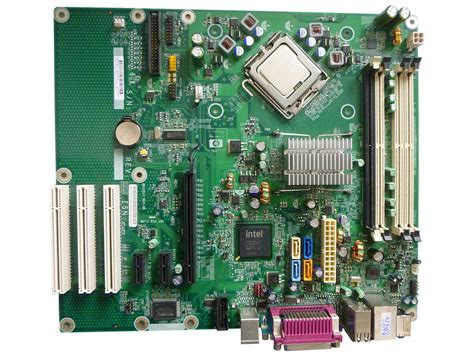 Mainboard Motherboard HP Grizzly REV 0B mit 3,16 GHz CPU