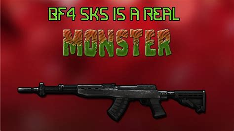 BF4 SKS Review - Best DMR Gameplay/Commentary - YouTube